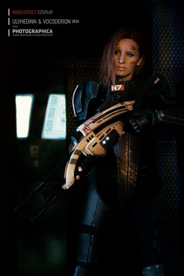 Mass Effect cosplay, Shepard Commander by Vocoder