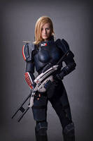 Mass Effect Cosplay by Vocoder