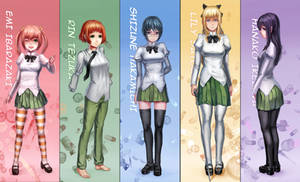 Katawa main cast