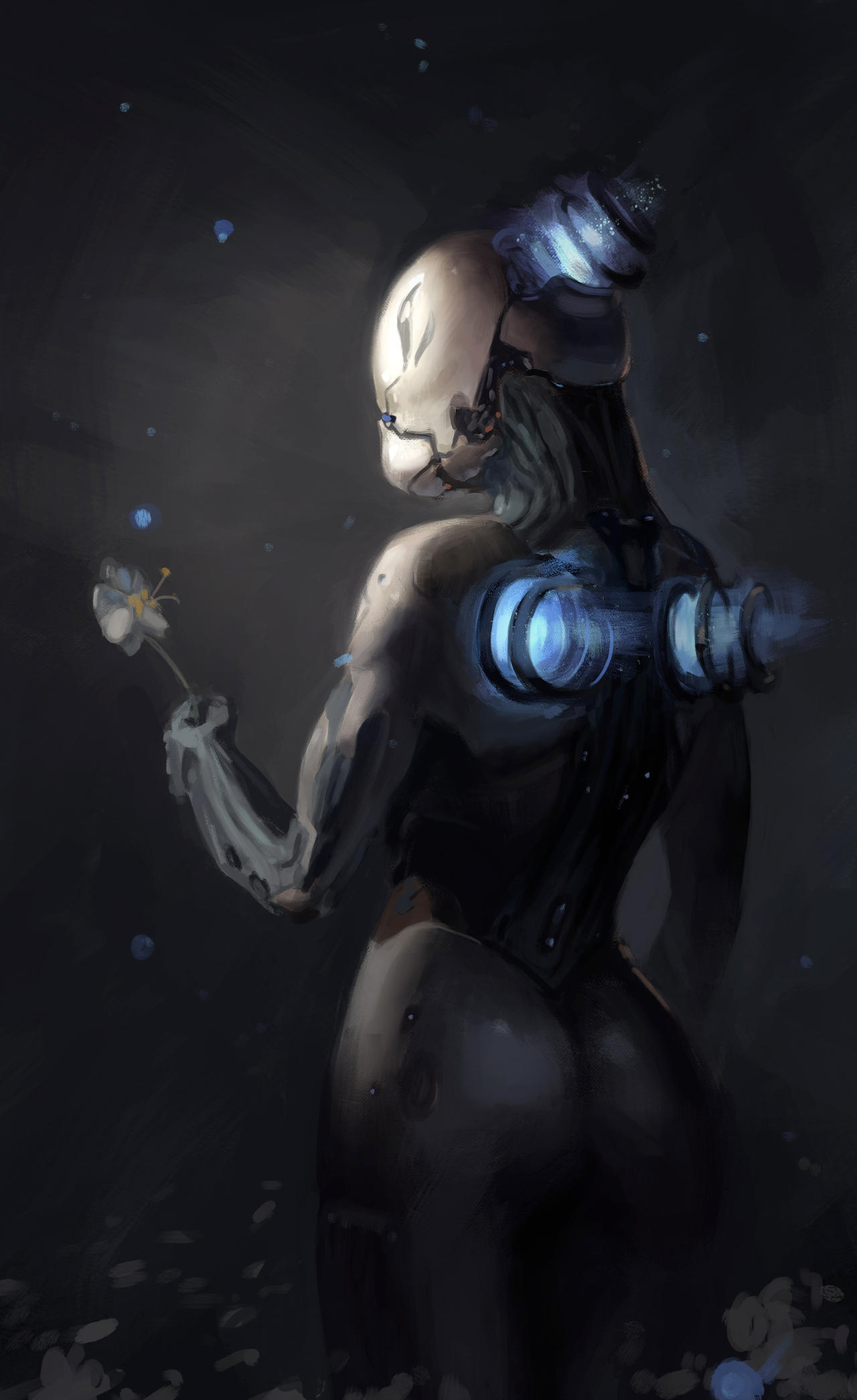 Dark Nova Figure Nova With Flower By Yukira Dj