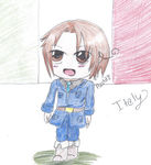 .:Contest Prize:. Chibi Italy by Freak-of-Games