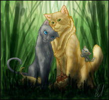 Lionheart and Bluestar