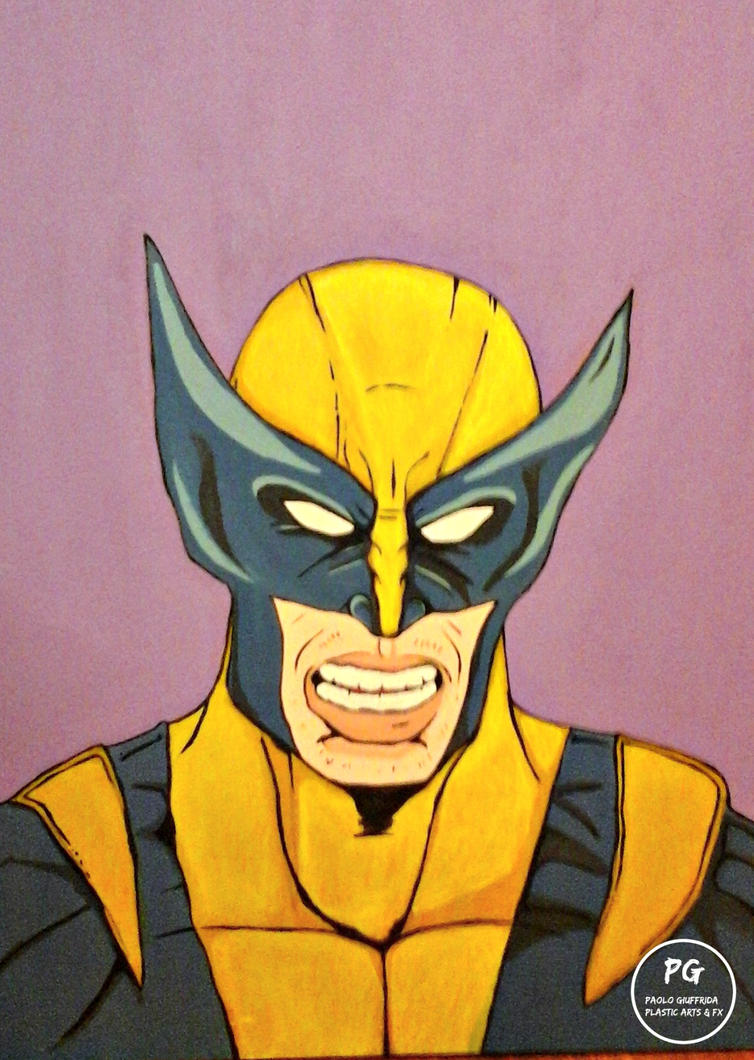 Wolverine Paint PopArt PGPlasticArts by jacktano80
