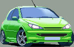 Peugeot 206 HDI - Tuning by strolas