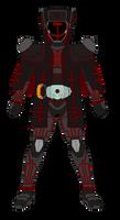 Kamen Rider Akutou Rasputin Damashii