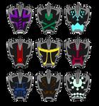 Ganger Youkyoku Dial Up Emblems