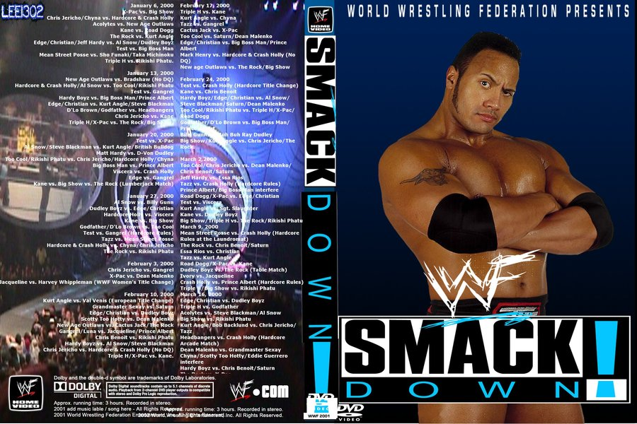 My WWF Smackdown 2000 Cover Art By Lee13022 On DeviantArt