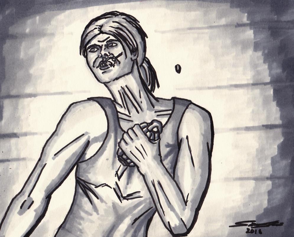 Sarah Connor by Cymoth