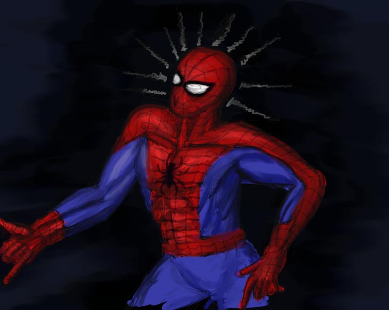 Spider sense tingling by Cymoth