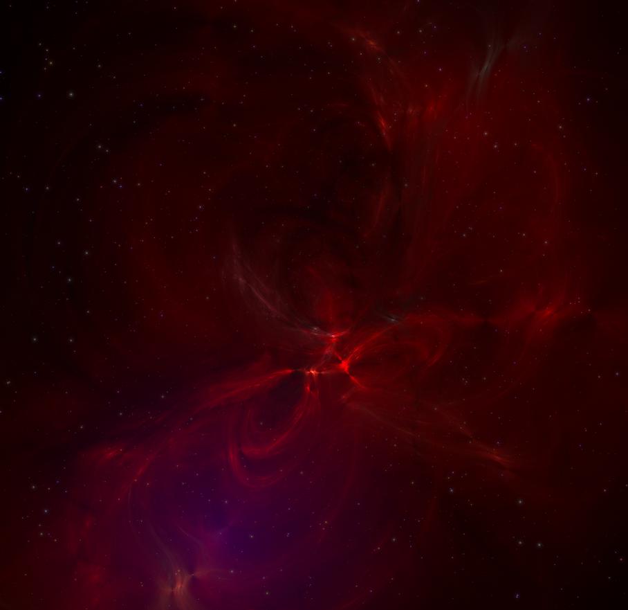 A red nebula by Cymoth