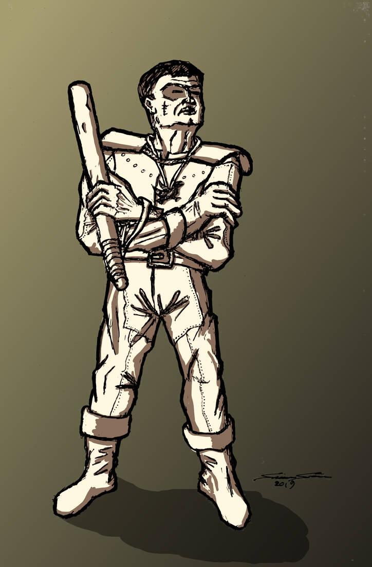 Cloister guard by Cymoth