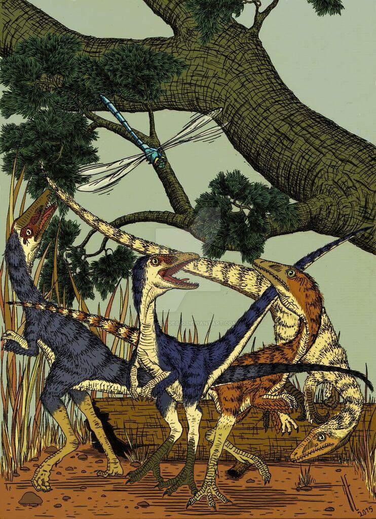 Compsognathus squad by Joaoeudes90