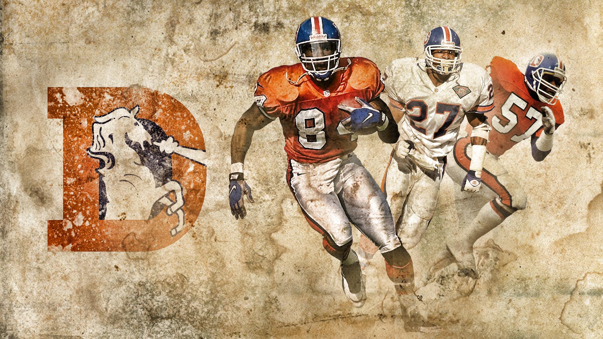 Broncos Old Logo Wallpaper