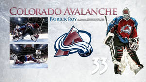 Patrick Roy Wallpaper by DenverSportsWalls
