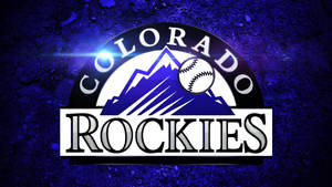 Colorado Rockies Logo Wallpaper by DenverSportsWalls