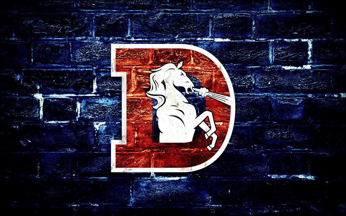 Denver Broncos D Logo Wallpaper by DenverSportsWalls on ...