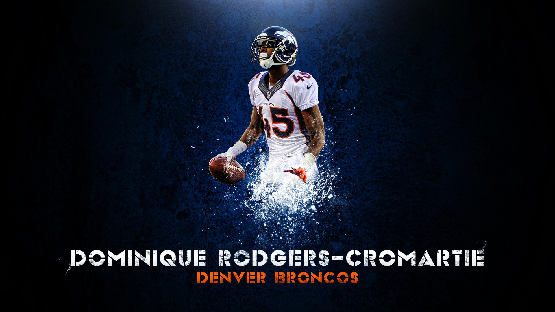 Dominique Rodgers Cromartie Wallpaper by DenverSportsWalls on