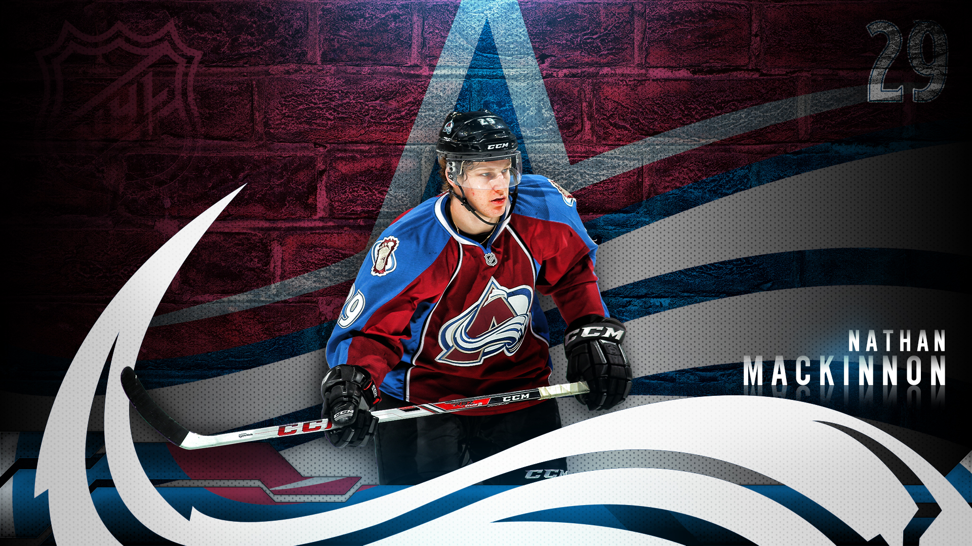 Nathan Mackinnon Wall by DenverSportsWalls on DeviantArt