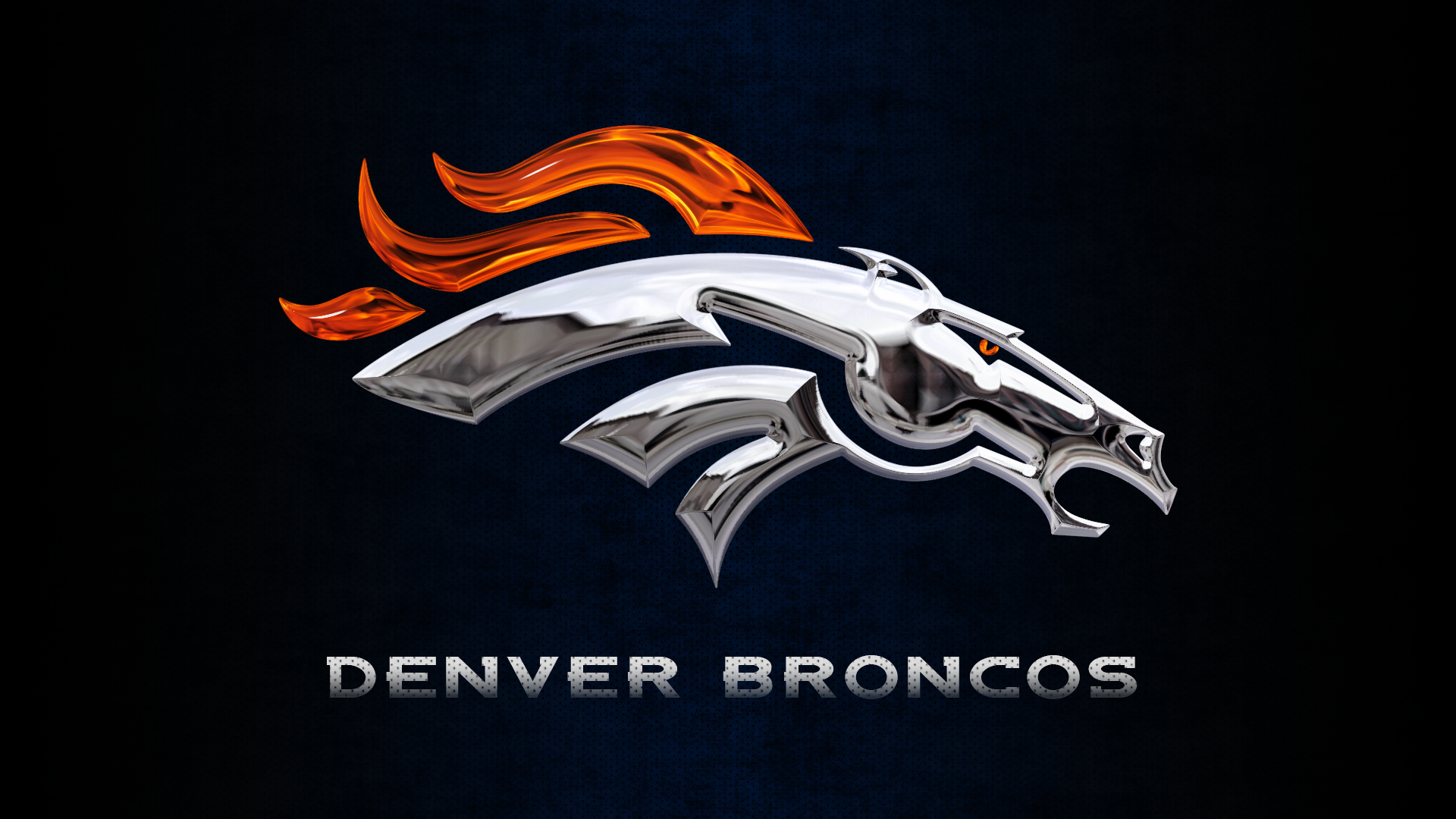 Milehighcity explore milehighcity on deviantart denver broncos chrome wallpaper by denversportswalls voltagebd Images