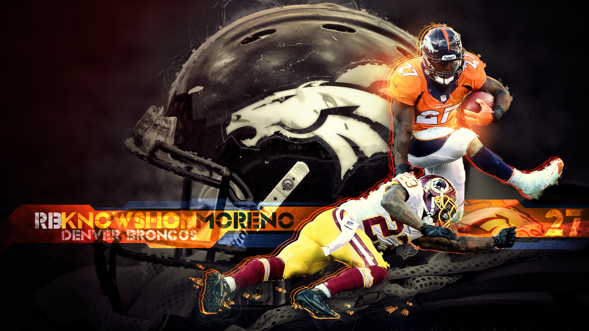 Housh's Wallpaper Gallery - Page 8Demaryius Thomas Wallpaper