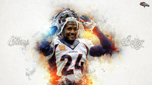 Champ Bailey Wallpaper by DenverSportsWalls