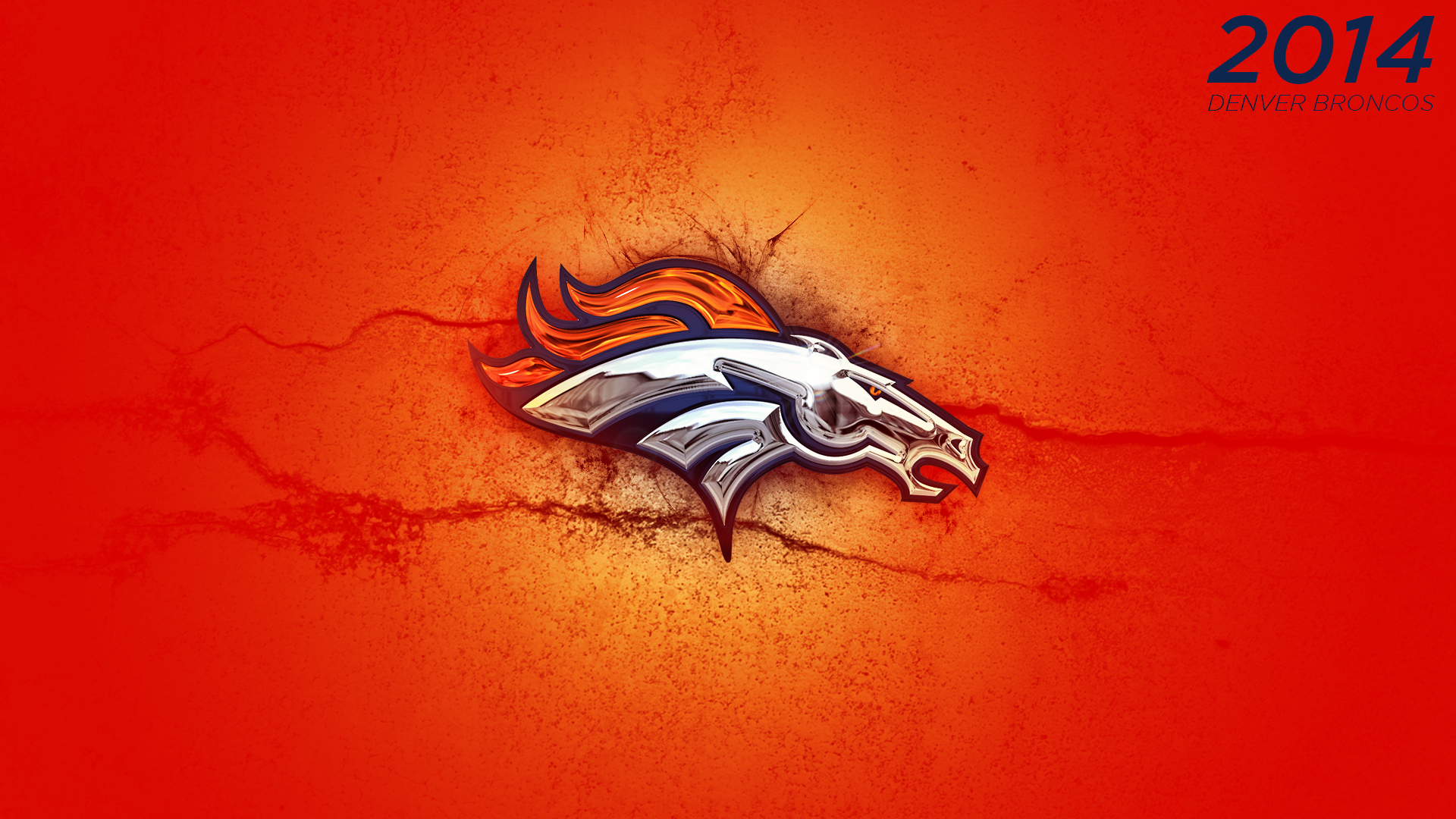 Orange 2014 Denver Broncos Wallpaper by DenverSportsWalls Orange 2014 Denver Broncos Wallpaper by DenverSportsWalls