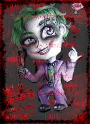 Joker. by HappyMog