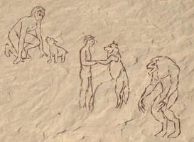 Ch 14: Barr na Dreseig Cavern Triptych by Herebedragons66