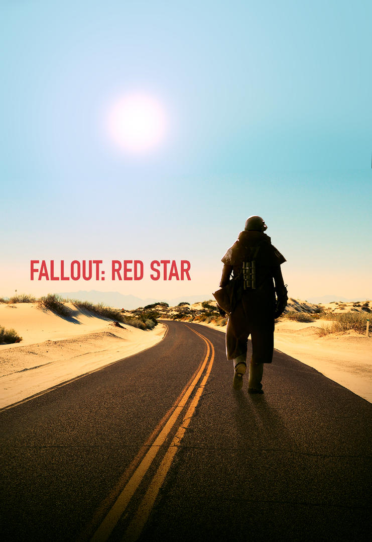 fallout red star poster by artbasement on deviantart