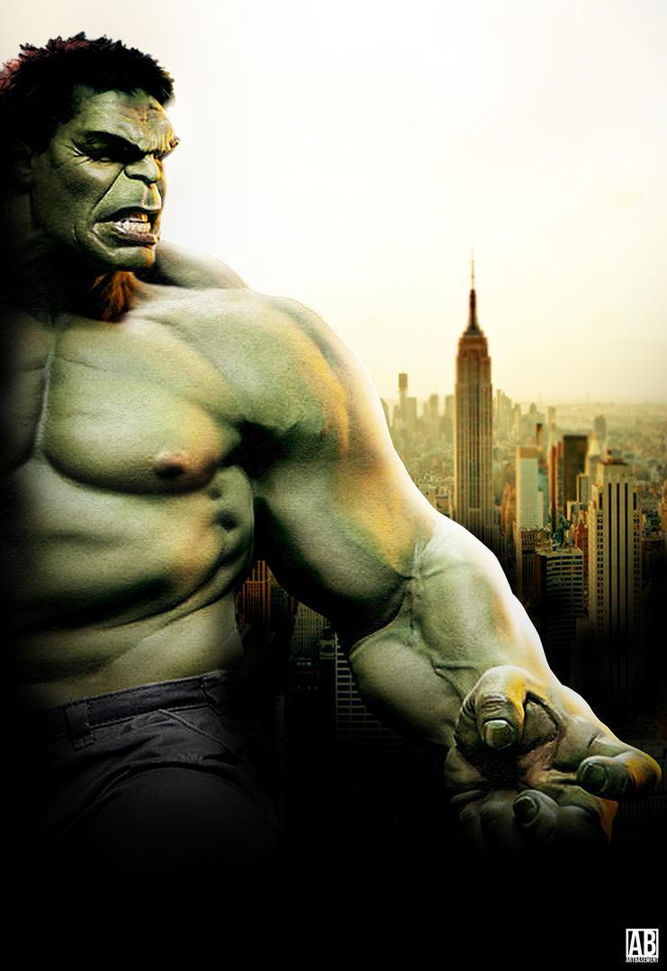 Mark Ruffalo Hulk - Poster by ArtBasement