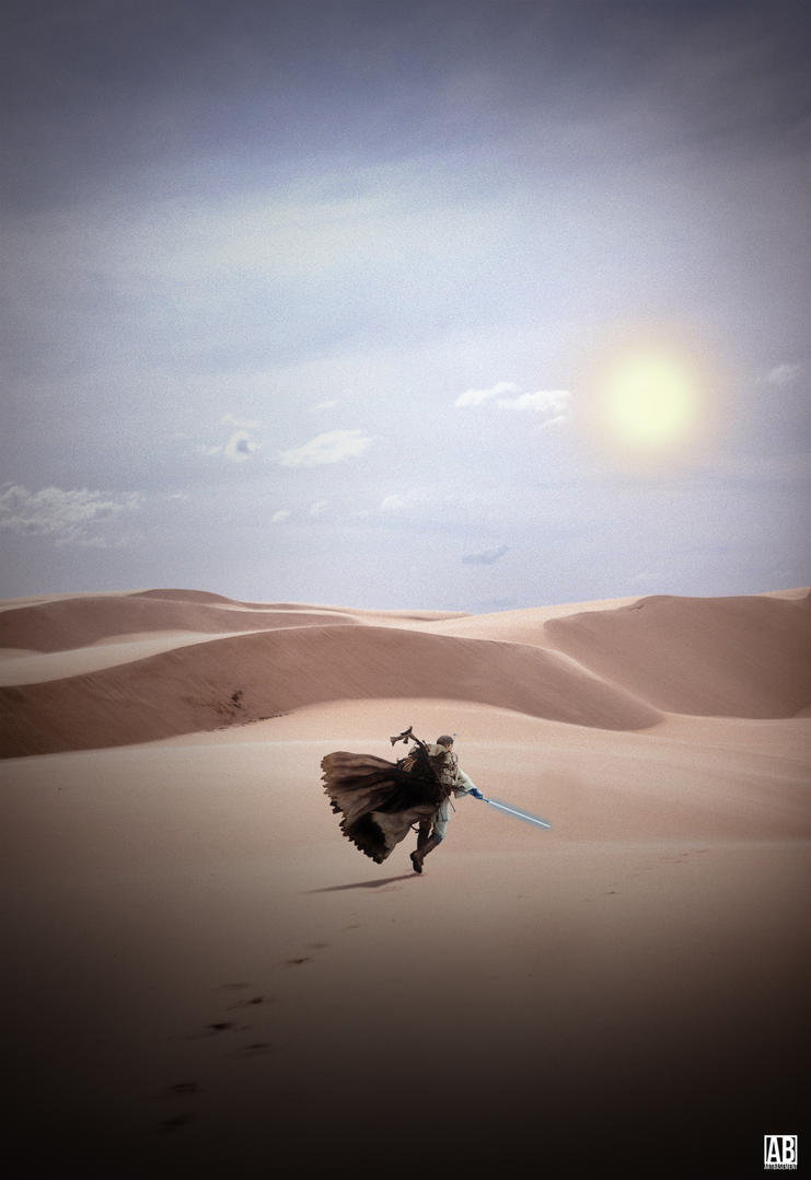 Obi-Wan - Poster by ArtBasement