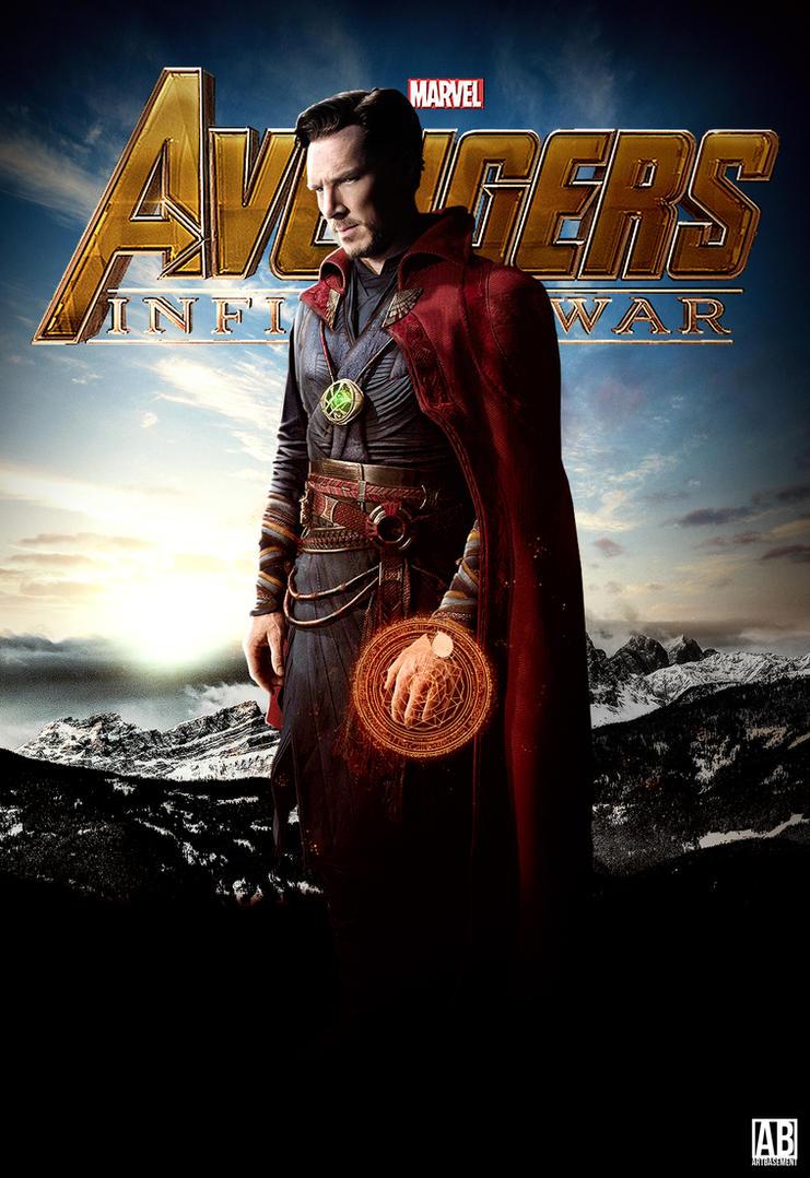 Doctor Strange - Avengers Infinity War by ArtBasement