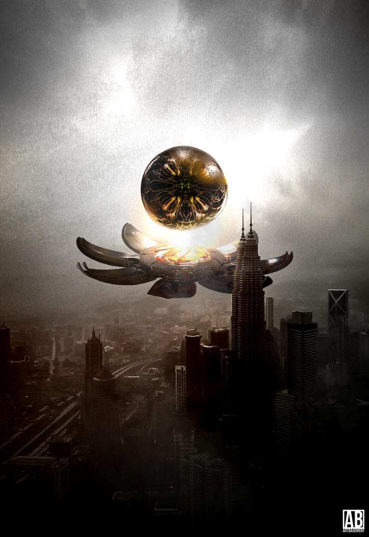 Magic Orb - Sci-Fi Poster by ArtBasement