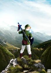 A Hero Must Stand - Legend Of Zelda Poster by ArtBasement
