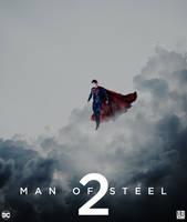 Man Of Steel 2 - Poster by ArtBasement
