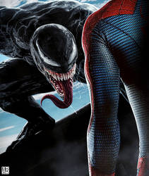 Venom VS Spider-Man - Poster by ArtBasement