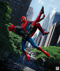 Spider Man And Deadpool - Poster