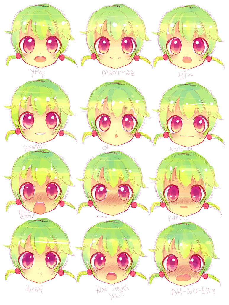 Nee expressions by Yamio