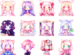 First pixel group