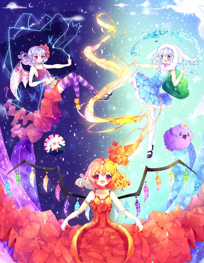 Legendery Touhou time by Yamio