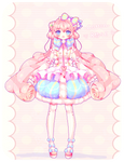 Cotton Rose Adoptable [AUCTION] [CLOSED]