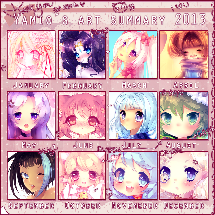 2013 Art Summary by Yamio