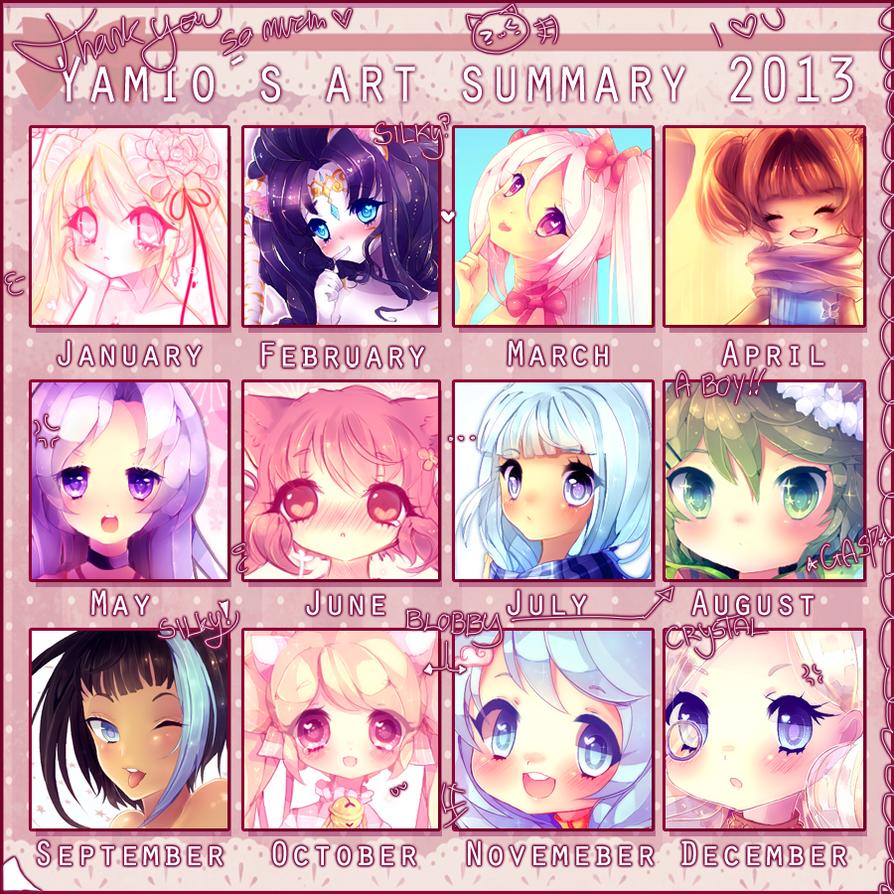 2013 Art Summary by Yamio