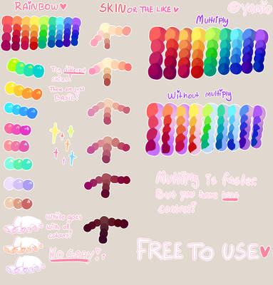 Tutorial + FREE to use Palette