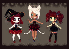 Halloween Annies [AUCTION] CLOSED