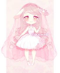 (F)Lorida Rabbit Baby breath Anemonella Annie by Yamio