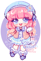 Annie Day 02 Crocus  Flower by Yamio