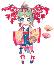Day 4 - Bellflower Cherry by Yamio