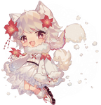 Day 15 Samoyed | Amaryllis by Yamio