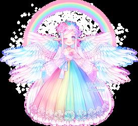Rainbow Annie 2019 | Day 10|1 by Yamio